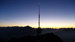 Abendstimmung auf dem Niederhorn ( BE - 1`963m - 9x ) in den Berner Alpen - Alps im Berner Oberland im Kanton Bern der Schweiz (chrchr_75) Tags: mountain alps berg montagne schweiz switzerland suisse swiss alpen christoph svizzera berner februar 2007 berneroberland oberland stockhorn suissa chrigu kantonbern chrchr hurni chrchr75 chriguhurni chriguhurnibluemailch hurni070201