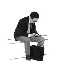 m_031 (takeshimiyasaka) Tags: blackandwhite monochrome illustration illustrator illust