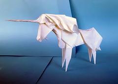 Unicorn (orig4mi.) Tags: paper origami fold unicorn
