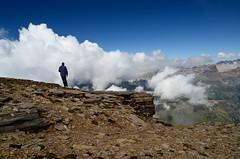 sul PIzzo Diei (gramignacosy) Tags: panorama mountain clouds landscape nuvole piemonte montagna paesaggio vco escursionismo ossola valdivedro pizzodiei