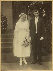 Marta og Paul Overskott (1921)