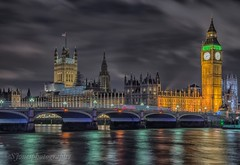 MP's playground:) (s.jonesphotography) Tags: city longexposure reflection london night river lights bigben nighttime houseofparliament