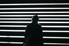 Irish Hunger Memorial (Alexander Tran   atranphoto.com) Tags: park street new york city nyc newyorkcity irish night lights memorial cityscape stripes battery hunger fujifilm famine xt1 atran atranphoto atranfoto
