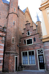 Westerkerk & Deacon's House 1aa (gerry.bates) Tags: windows roof house holland brick church netherlands dutch architecture doors exterior enkhuizen faade noordholland westerkerk gabledroof crowsteppedgable unescomonument 15th17thcentury deaconshouse