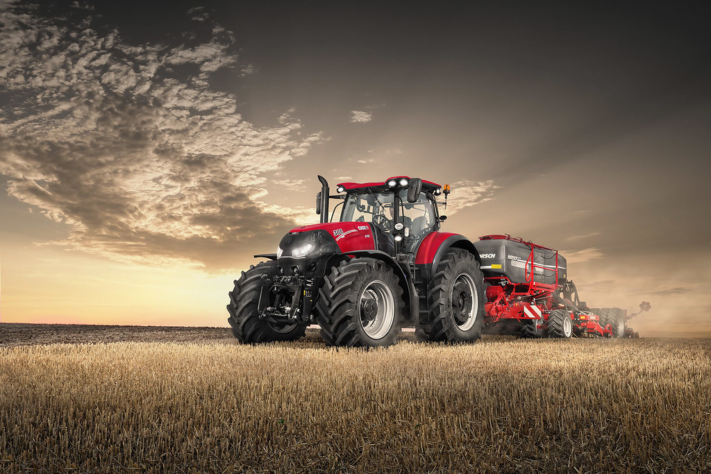 Case Tractors 300 Series : The world s best photos of seeding and sunset flickr