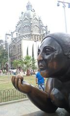 Plaza Botero (sftrajan) Tags: plaza sculpture architecture arquitectura colombia escultura publicart medellín fernandobotero plazabotero palaciodelaculturarafaeluribeuribe agustíngoovaerts