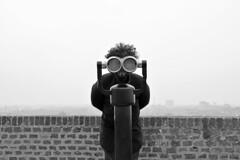L'osservatore - The observer. (sinetempore) Tags: street boy portrait blackandwhite man torino eyes occhi uomo curlyhair turin ritratto viso biancoenero ragazzo volto theobserver capelliricci losservatore