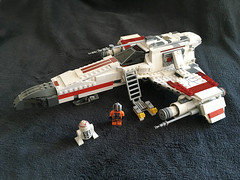 IMG_1261 (lee_a_t) Tags: starwars fighter lego xwing spaceship ewing rebels starfighter darkempire legoxwing legostarfighter legoewing