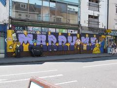 IMG_5813 (don pedro 93) Tags: uk june bristol graffiti haka fiver 2014 stokescroft marryme staceysmith bkae