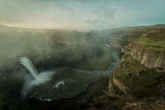 It was the mist we missed (marcusklotz2014) Tags: longexposure cliff mist washington waterfalls snakeriver pacificnorthwest washingtonstate pnw palouse easternwashington palousefalls explorewashington exploremore