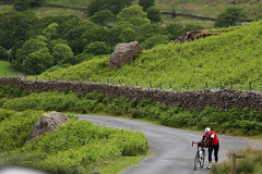 Cyclist in Lake District (suripreeti) Tags: road greatbritain travel cyclist outdoor yorkshire lakedistrict