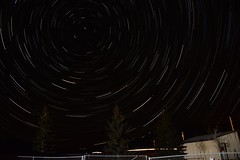 2016 New Year's Eve Startrail (The Surveyor) Tags: longexposure nightphotography newmexico nm startrails eaglenest