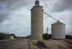 silo, Cowangie (thoughtfactory) Tags: architecture digital rural imac silos sa phototrip photoproject leicasummicron35mmf20asph garysauerthompson malleehighway novoflexadaptor lightroom5 sonynex7 cowangie