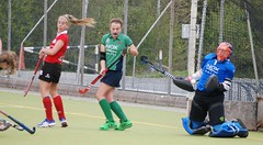 This one's gonna hurt.. Shot from close range stopped by Greenfields Keeper Sinead (Greenfields Hockey Club) Tags: hockey cork connacht quins harlequins greenfields dangan ihl irishhockeyleague greenfieldshockeyclub irishhockey connachthockey hockeygalway corkharlequins