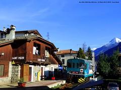Aosta - Pr... (luca denti) Tags: fiat valledaosta fermata aln663 lineaferroviaria fiatferroviaria automotrici spierre aostapre cambiofiat