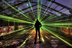 The Laser is Strong in this One 1_2_3_tonemapped (neil rushby photography) Tags: light silhouette night dark painting lights exposure artistic creative double