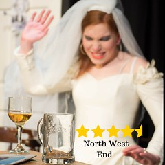 The Lionheart Phantom @gdtheatreco 11-12 July 2016 @thecastlehotel @NQManchester (gmfringe) Tags: new uk wedding summer england people yellow festival manchester bride actors pub comedy northernquarter cheshire adult northwest theatre britain stage events yorkshire performance july lancashire haunted bee story entertainment lgbt haunting ghosts wineglass northern drama gaybar spectre pintglass farce rumours oldhamstreet 2016 newwriting ancoats grimupnorth thecastlehotel whatson gmfringe greatermanchesterfringe tesshumphrey granddametheatre thelionheartphantom