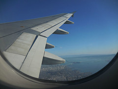 inflight SFO-LAS (kenjet) Tags: inflight view wing aerialview aerial jetblue windowview fromthewindow