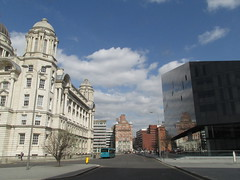 Liverpool, Merseside England (bikerchick2009) Tags: england reflection art history museum liverpool canal library graces merseyside the