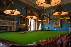 Billiards (matthew_mousley) Tags: old blue art lights interior paintings sigma billiards nationaltrust snooker lense 1835mm canon70d