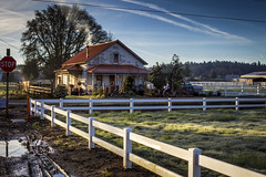 Country House (rick.luiten) Tags: family beautiful oregon happy spring fireplace scenery image country warmth peaceful woodstove oaktrees coldday willammettevalley