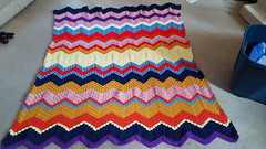 Joni Stewart (The Crochet Crowd) Tags: game stitch right blanket afghan throw crochetblanket thecrochetcrowd stitchisright