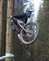 02 MTB SCDH 16 Apr 2016 (8) (Kate Mate 111) Tags: uk mountain bike forest cycling crash sheffield yorkshire steve competition racing downhill peat riding mtb mountainbiking grenoside