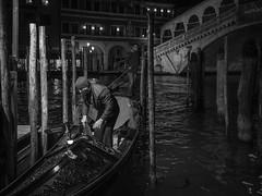 imageRialto bridge just before 10 at night - Venice 2014 (Wilfried Gebhard) Tags: venice venedig