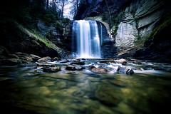 Looking Glass Falls (WabbyTwaxx) Tags: glass forest waterfall nc looking north falls national carolina pisgah brevard