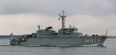 Primula M924 Minesweeper (Niall McCormick) Tags: dublin port 1 mine ship counter group class belgian component naval nato minesweeper measures tripartite minehunter