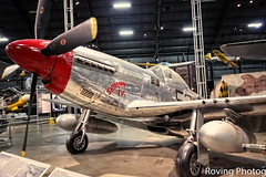 North American P-51D Mustang (robtm2010) Tags: ohio usa museum canon airplane war fighter aircraft military wwii planes mustang dayton t3i p51d fighterplane northamerican nationalmuseumoftheunitedstatesairforce