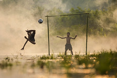Euro 2016 (SaravutWhanset) Tags: playing outdoors photography football outdoor euro barefoot exploer euro2016
