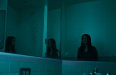 Untitled (1/15) (Erik D Robinson) Tags: light woman house abandoned broken girl beauty fashion contrast bathroom happy mirror model sad makeup story 70s bathtub conceptual narrative styling redemption emilymcney