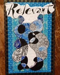 Swap-bot - PNS: Embroidered Postcard, outgoing (GinaVisione) Tags: mailart embroidered swapbot postalfail zendoodle ginavisione
