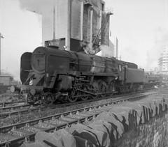 BR Standard Class 9F 2-10-0 at Bristol Barrow Road (82E) (rac819) Tags: steam railways britishrailways steamlocomotives uksteam brsteam