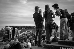 Rock the Turf-80 (Donna Longobardi) Tags: people dancing stage crowd band stagelights blackandwhitemusicfestival rocktheturf
