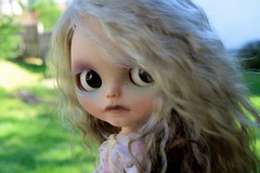 Good-bye Artemis (Chassy Cat) Tags: alpaca skinny blythe custom artemis shimmer customize scalp chassycat dollywardrobe