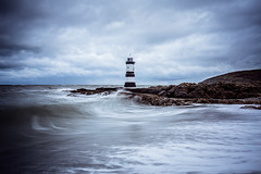 Penmon Lighthouse (Neil Nicklin Photography) Tags: ocean lighthouse seascape storm water wales landscape rocks lighthouses welsh anglesey northwales penmonpoint penmonlighthouse landscapelocations penmonanglesey