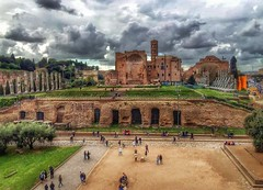 Tempio di Venere  -  Roma (lefotodiannae) Tags: roma italia hdr tempiodivenere lefotodiannae