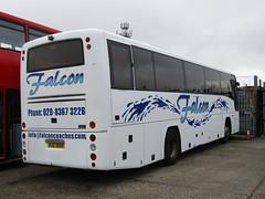 RJZ 3688 (markkirk85) Tags: new bus ex buses volvo south falcon morecambe coaches harrisons paragon 924 mimms nbl 42003 plaxton 3688 rjz b12m pj03 rjz3688 pj03nbl