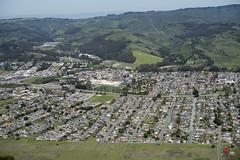 Aerial view of Half Moon Bay, San Mateo County, California (cocoi_m) Tags: california highway1 halfmoonbay aerialphotograph sanmateocounty highway92