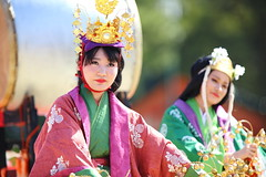 Tradition (Teruhide Tomori) Tags: portrait festival japan lady dance kyoto stage event   kimono tradition japon      heianjingushrineperformance