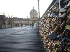 Paris (marialena2007) Tags: bridge paris padlocks