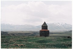 (tayn3) Tags: city travel film 35mm turkey ancient ruins capital chapel olympus ishootfilm monastery 200 armenia silkroad historical fujifilm ani olympusom2 om2 ruined armenian 2016 superia200 om2n aniruins traveldeeper