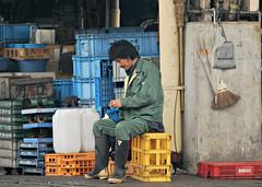 Tsukiji (Txulu) Tags: fish tokyo asia viajes tsukiji pescado japoneses tokio japn