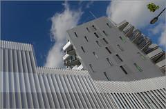 Rennes - Cit universitaire internationale (II) (In Explore) (Herv Marchand) Tags: france architecture university angle details bretagne grand rennes fragment urbain universitaire inexplore