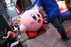 Nintendo Booth Kirby (raystrazdas) Tags: street game boston harbor video kirby fighter force outdoor lol massachusetts sony nintendo games east adventure gaming virtual legends pikachu pokemon reality pax playstation epic league vr federation ryu metroid