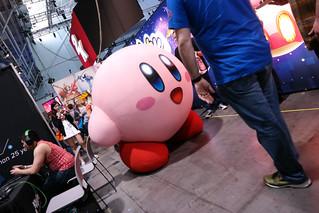 Nintendo Booth Kirby