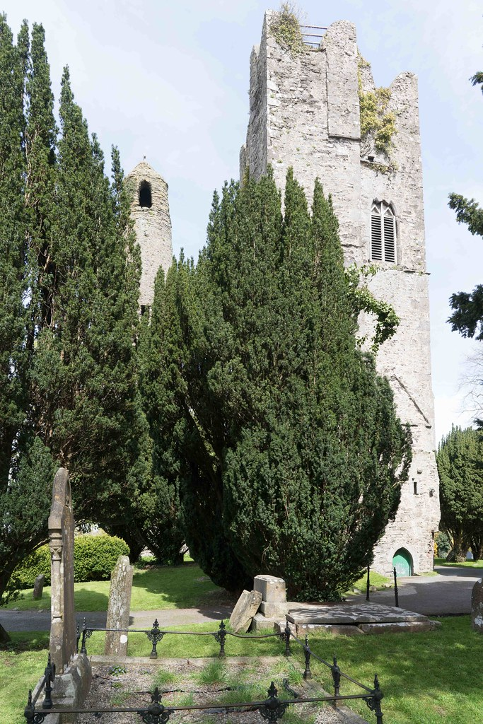 St. Columba's Church And Grounds In Swords County Dublin [Church Road]-115235
