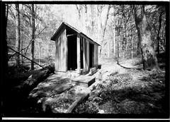 Pump House - Pinhole - Paper Negative (dungan.robert) Tags: virginia belmont pinhole papernegative 5x7 staffordcountyvirginia copyrightrobertedungan2016 rcvcglossyaristaerdultra
